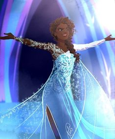"""These Racebent """"Frozen"""" Characters Are Absolutely Stunning"""