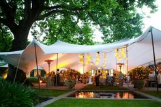 These Stretch Tents look so amazing for an outdoor wedding set up. Book Yours Today 1300 475 164