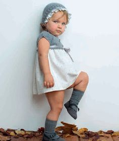 Ropa para bebés para este Invierno 2014 con la moda infantil de Pilar Batanero