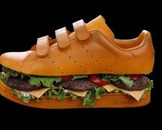 These would go nicely with that burger dress!  Thanks pinterest, you are drunk