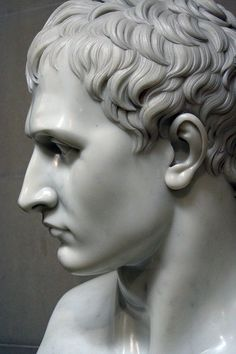 This bust of Napoleon by Canova can be seen at Chatsworth, seat of the Dukes of Devonshire.
