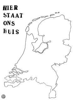 blanco kaart nederland provincies met hoofdsteden craft