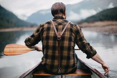 water's warm for october. woodsman suspenders from UpKnorth