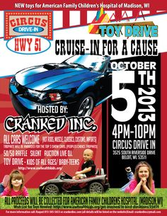 Car show flier by http://yepgraphix.com/car-show-fliers/