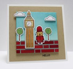 London Mouse, Things With Wings, Blueprints 7 Die-namics, Brick Wall Cover-Up Die-namics, London Mouse Die-namics - Jody Morrow  #mftstamps