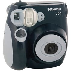 Polaroid camera. Everyone says this ones the best:)