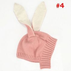 Knitted Rabbit Hat