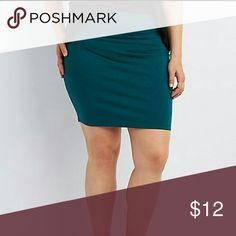 Mini skirt Teal bodycon mini skirt. Charlotte Russe Skirts Mini