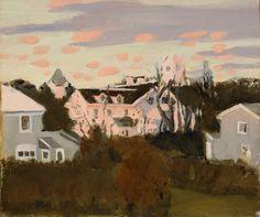 Fairfield Porter | Sunset, Southampton, (1967) | Artsy