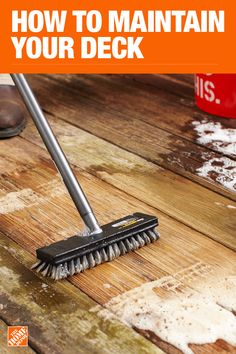 The Home Depot has everything you need for your home improvement projects. Click through to find all your deck and outdoor living needs. Deck Cleaning, Household Cleaning Tips, House Cleaning Tips, Diy Cleaning Products, Cleaning Solutions, Cleaning Hacks, Home Improvement Projects, Home Projects, Deck Maintenance