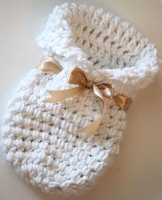 Newborn Crochet Cocoon