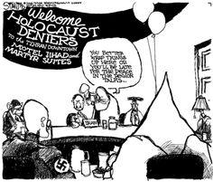 Holocaust Denial Cartoon