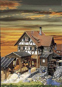 Fallers Sawmill for HO scale model trains http://vur.me/s/model-train-club