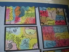 Children's art in the style of Paul Klee   Chessalee
