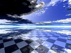 チェス●チェス板は8×8、白と黒の制限されたシンプルな世界だか、その中で打たれる手は無限のようにある。シンプルはとても複雑になる。