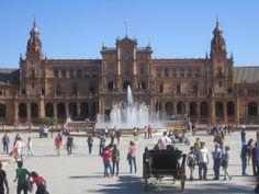 Plaza de España, Maria Luisa Park, Sevilla, Spain