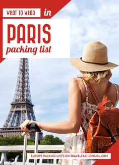 If you're wondering what to wear in Paris, France these expert fashion tips makes packing for Paris a breeze! Take a look at out sample packing list ideas! Paris Packing, Packing For Europe, Packing List For Travel, Paris Travel, France Travel, Packing Tips, Cruise Packing, Vacation Packing, Backpacking Europe