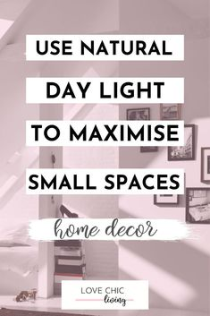 Natural lighting ideas for small rooms and lighting ideas for small apartments. The best tips and lighting ideas for very small apartments, and our favourite home lighting ideas. Small Rooms, Small Apartments, Small Spaces, Home Lighting, Lighting Ideas, Interior Design Issues, Painted Bar Stools, Maximize Small Space, Paint Bar