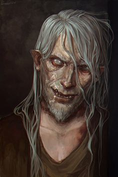 Beast (Old man with scars) by LoranDeSore.deviantart.com on @DeviantArt