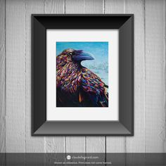 8x10 Print  Raven by claudelle on Etsy, $37.00 Raven, Random, Unique Jewelry, Handmade Gifts, Etsy, Vintage, Decor, Kid Craft Gifts, Decoration