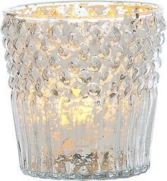 Luna Bazaar Silver Mercury Glass Candle Holder (diamond top design) Cultural Intrigue http://www.amazon.com/dp/B009941656/ref=cm_sw_r_pi_dp_xCj-tb15NYSAH
