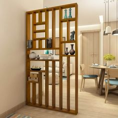 Clever Room Divider Ideas To Optimize Your Space - Engineering Discoveries Wooden Partition Design, Wooden Partitions, Living Room Partition Design, Living Room Divider, Room Partition Designs, Living Room Decor, Room Partitions, Partition Ideas, Partition Screen