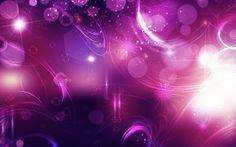 Abstracte met roze en paarse lichten | Achtergrond Wallpapers