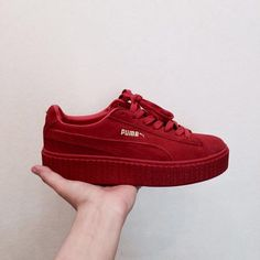 chaussure puma rouge femme