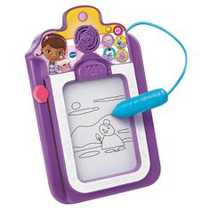 "Doc McStuffin Talk & Trace Clipboard - Vtech - Toys ""R"" Us $19.99"