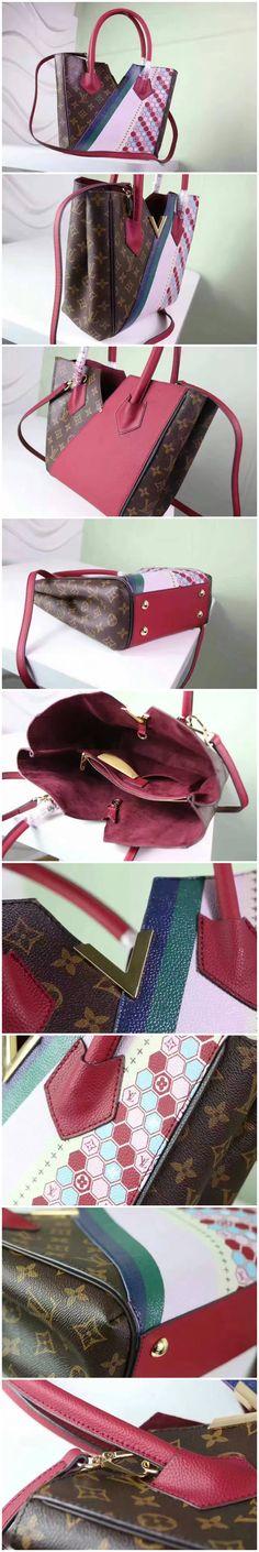 LV Hangbag! New kimono handbag !  Inspired by Japanese robes. Original leather! Top goods!  Model: 40468   Size: 28 cm