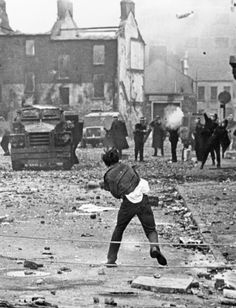 Derry August, 1969. The Troubles in Ireland.