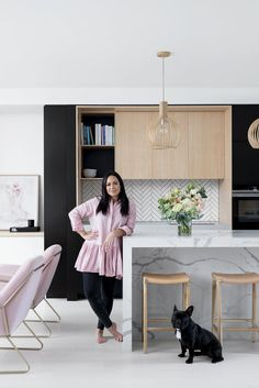 keep seeing photos of our home, being reposted across socials, and it seriously warms my heart to see that other people adore my interior Home Interior Design, Interior Styling, Home And Living, Home And Family, White Floorboards, Zen House, Australia House, Black House Exterior, Bohemian Interior