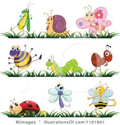free clip art insects | Royalty-Free (RF) Insect Clipart Illustration by iimages - Stock ...
