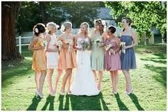 pastel rainbow weddings parties  | pastel rainbow