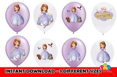 Sophia the First Balloons Birthday Party by ExpressInvitations, $3.99