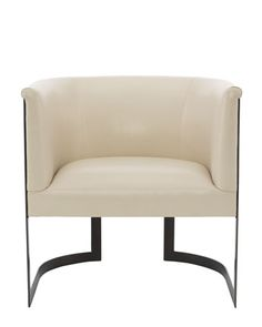 Zalina Leather Accent Chair  by Bernhardt at Horchow.