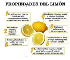 La Salud en Imágenes: Las Propiedades del Limón