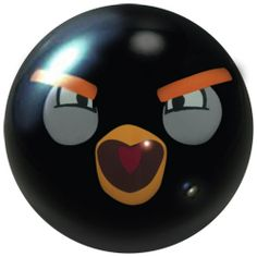 Bowling Pins, Bowling Ball, Angry Birds, Sports Equipment, Yard Art, Balls, Gourds, Upcycle, Fun