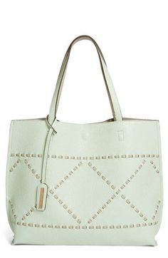 Street Level Reversible Woven Faux Leather Tote available at #Nordstrom