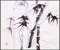 Japanese Ink Painting | Sumi-e (Japanese ink painting) - WetCanvas