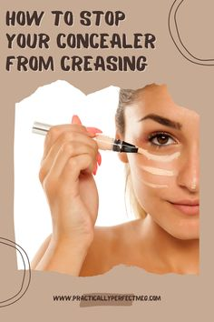 How to prevent your concealer from creasing. #concealer #makeup #makeupaddict #makeuplover #makeupjunkie #makeuptutorial #makeuptutorials