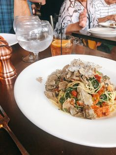 Restaurant History, Saratoga Springs New York, Spring In New York, Pasta Salad, Favorite Recipes, Meals, Ethnic Recipes, Food, Crab Pasta Salad