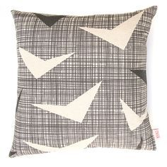 Add some 50's styling to your home with the 'Airborne' pillow cover by Skinny laMinx.
