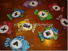 Fish themed learning activities