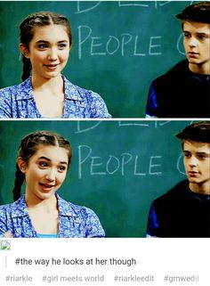 Just admit it Farkle!!! You love her!!!