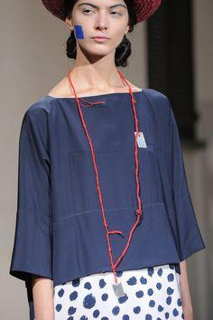 Daniela Gregis at Milan Fashion Week Spring 2016 - Details Runway Photos