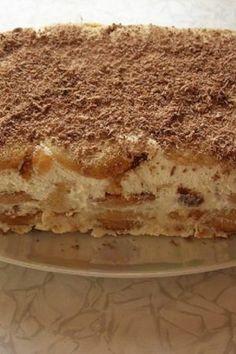 Ai musafiri pe neasteptate si nu stii ce sa pregatesti? Iti prezentam un tort cu banana care nu necesita coacere I Foods, Tiramisu, Ethnic Recipes, Banana