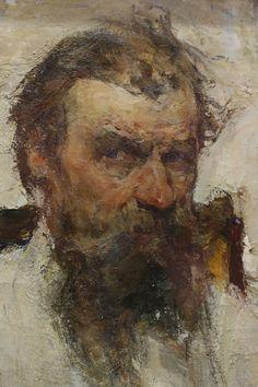 Nicolai Fechin - portrait of the artist's father (detail)