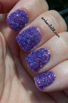 Amber did it!: Sprinkle Nails