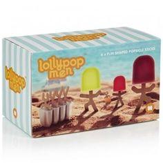 Forma de Picolé Lollypop Men